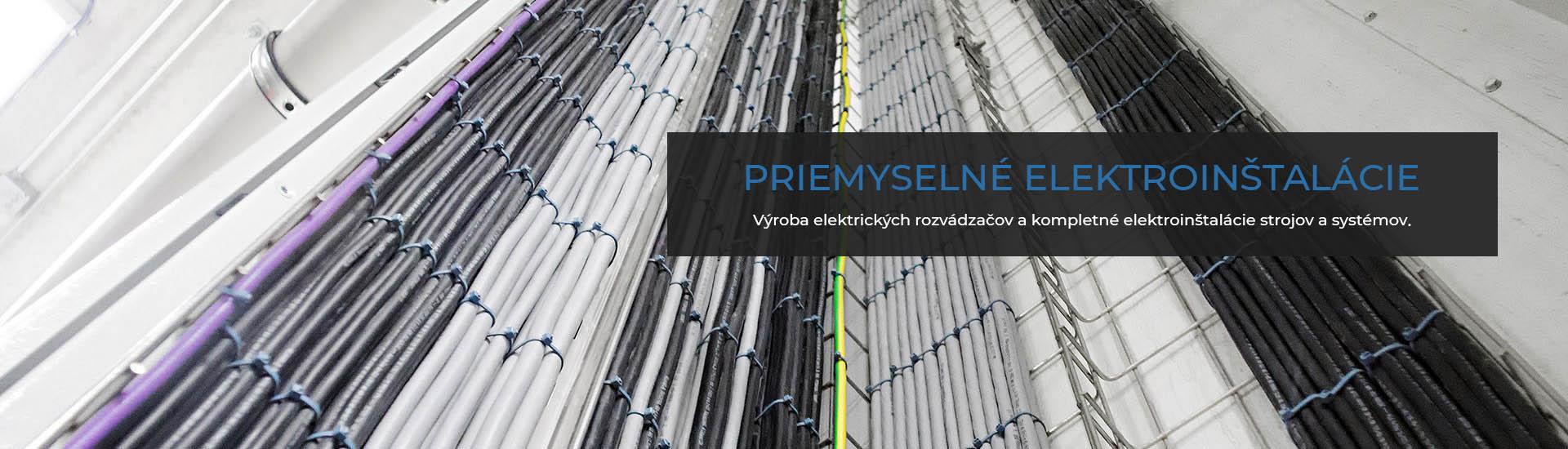 Priemyselné elektroinštalácie   Proindustry.sk
