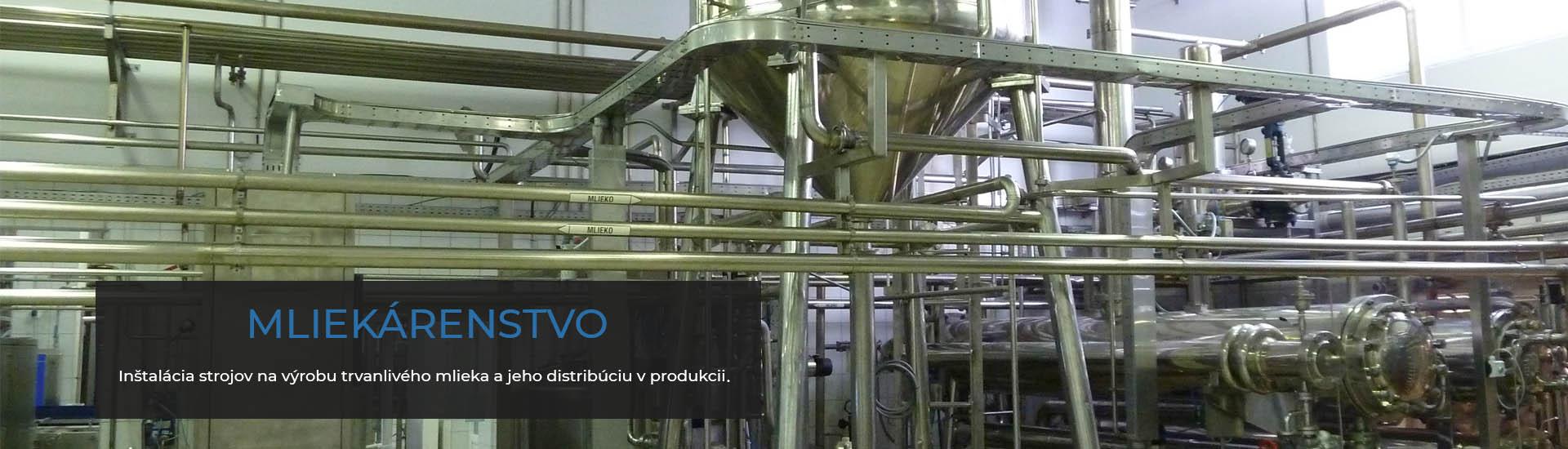 Mliekárenstvo   Proindustry.sk